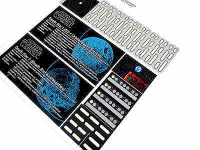 ETC MODELS CUSTOM STICKERS for STAR WARS Lego 75159 10188 DEATH STAR