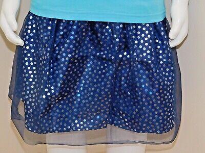 Disney Frozen Little Girls 2-Piece Elsa T shirt & Scooter Skirt Set OFFICIAL DIS 3