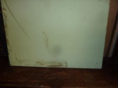 """antique ORIGINAL circa 1920's schoolhouse MASONITE chalkboard 60"""" x 42 UTICA, NY 4"""