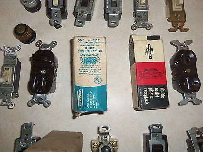 Large Lot of Vintage Electrical 5 Pieces NOS in Original Boxes 3