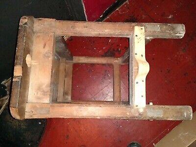Beautiful Antique  English  Cobblers Bench 9