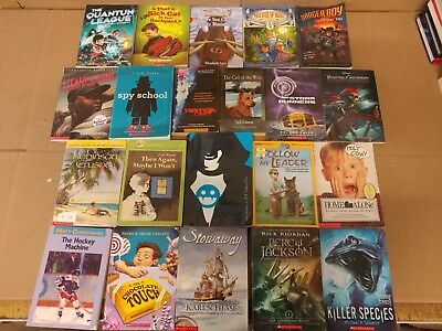 Lot of 20 Chapter Books for BOYS Youth Early Reader Young Adults Children RANDOM 5