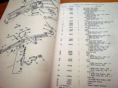 New Holland 275 Hay Baler Hayliner Parts Catalog Book List Manual Nh