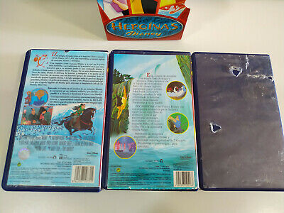 La Bella y la Bestia - Pocahontas - Mulan - Walt Disney - 3 x VHS Cinta Español 5