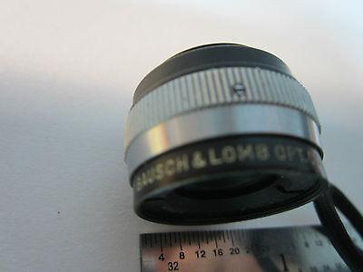 Microscope Pièce Objective Bausch Lomb Miro Tessar 32 mm Optiques Bin #24-57-2 5