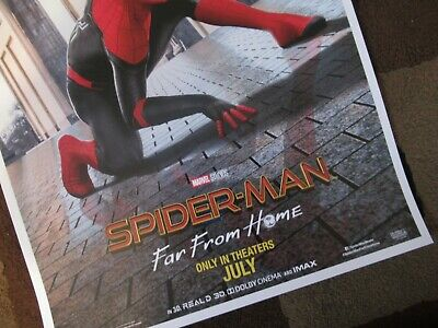 """11/"""" x 17/"""" Movie Collector/'s Poster Print T4 Spider-Man: Far From Home"""