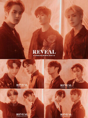 THE BOYZ REVEAL 1st Album CD+POSTER+Photo Book+Post Card+Film+Card+Fortune+GIFT 3