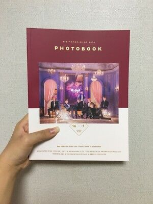 BTS BANGTAN BOYS Memories of 2016 Official DVD Photobook Set Without Photocard 3