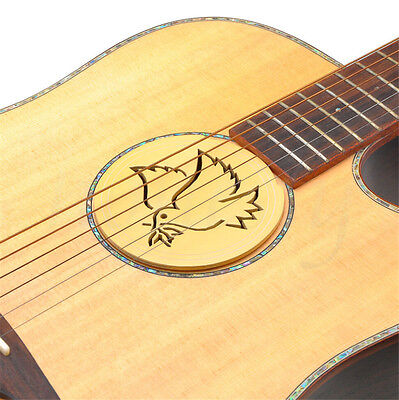 Soundhole Cover For Acoustic Guitar Feedback Buster Sound Buffer Hole Protector 3