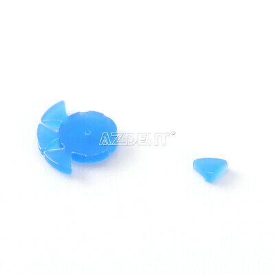 Dental Root Canal File Marking Circle Ring Counting Stopper Disinfection 100pcs 4