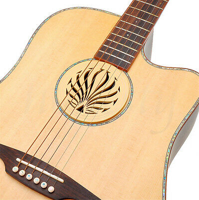 Soundhole Cover For Acoustic Guitar Feedback Buster Sound Buffer Hole Protector 4