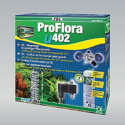 JBL ProFlora u402 CO₂-Düngeanlage mit 500 g Reichweite 400 l Kohlenstoffdioxid 2 • EUR 213,65