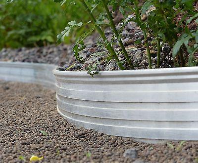 Aluminium Randbefestigung Rasenkante Rasenbegrenzung Beetumrandung Mähkante