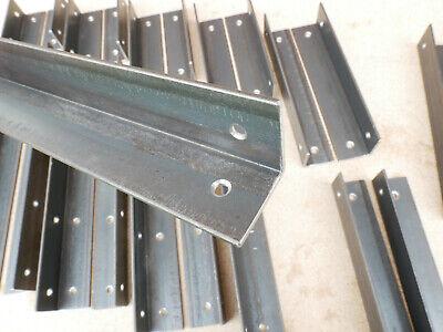 Alcove Shelf Brackets (pair) Shelves Corner Angle Steel Scaffold Timber Board 4