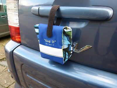 Dog poo bag waste carrier, Sling it - don't leave it!  4