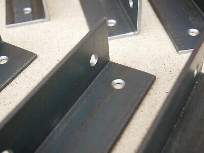 Alcove Shelf Brackets (pair) Shelves Corner Angle Steel Scaffold Timber Board 8