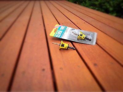 10gauge x 50mm Stainless Steel 304Grade Decking Screws 1000pc + Clever tool deck