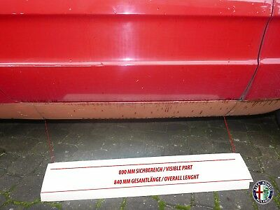 2X Side Sills Side Skirts Alfa Romeo 105 115 Spider 66-93 Left Right 5