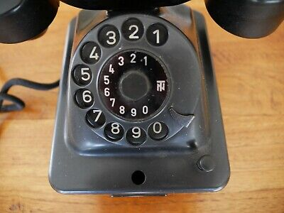 Historisches Telefon W38, Bakalit, Post 4