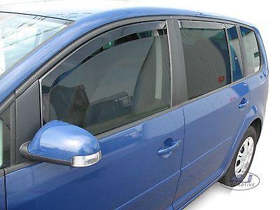 VW TOURAN  2003 - 2015  Deflecteurs d'air Déflecteurs de vent 4pcs 2