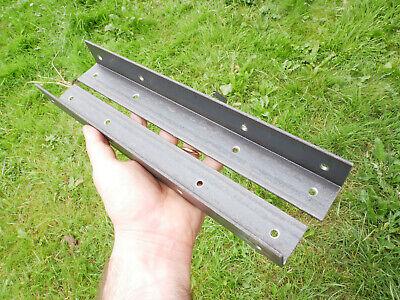 Alcove Shelf Brackets (pair) Shelves Corner Angle Steel Scaffold Timber Board 5