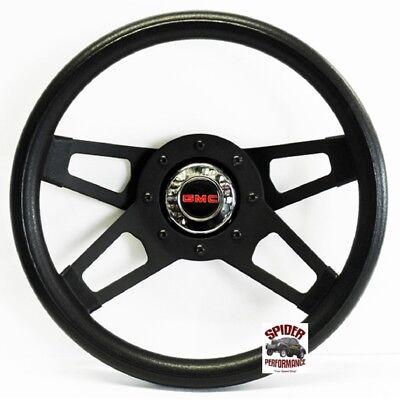 "1980-1987 Suburban Jimmy GMC pickup steering wheel 13 1//2/"" Silver 4 Spoke Grant"
