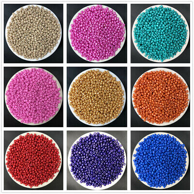 NEW DIY 15g 3mm 500PCS Lots Charm Czech Glass Seed beads Jewelry Making Craft 6