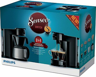 Senseo HD7892/60 Machine à Café de 2 en 1 Capsules Moulu ou 1450 W 8