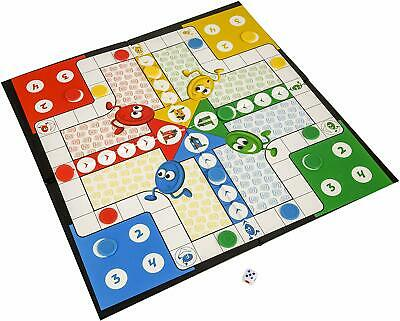 HTI Toys Traditional Games Ludo Family Board Game Set 2