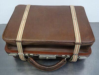 Antike Hebamme Doktor Koffertasche Koffer Arzt Leder Tasche 6