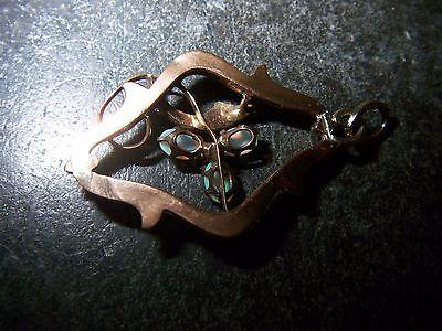 PD 5 Stück Schmetterling #2 Anhänger Käfig Bola Perlen Mexican Ball Bronze NEU