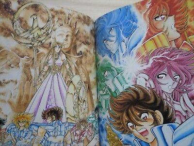 """Saint Seiya /""""sora/"""" Masami Kurumada illustration art book"""