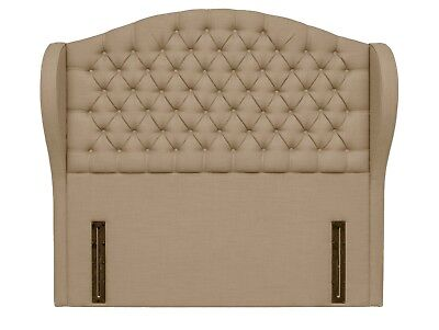 Cosenza Floor Standing Headboard Various Sizes and Colours Plus Swatch 2