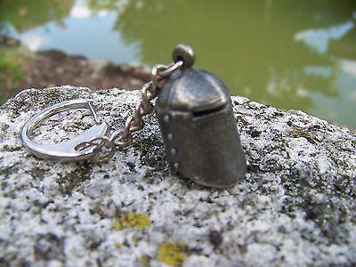 02a830a8680c HF0758 PORTE Cle Casque De Joute Heaume Medieval Moyen Age Neuf 50 ...