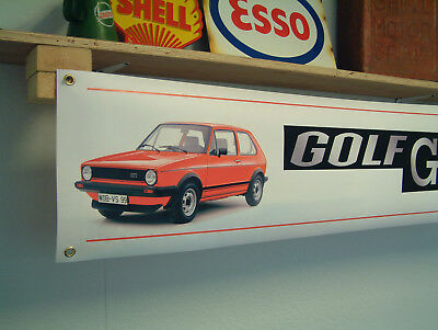 VW Beetle Banner Volkswagen Car Display Workshop Garage Wolfsburg Type 1