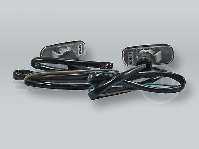 TYC Smoke Fender Side Marker Turn Signal Lights PAIR fits 1999-2001 AUDI A4
