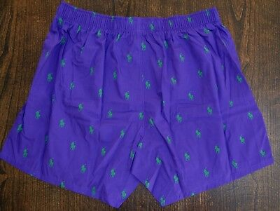 Polo Ralph Lauren mens underwear boxers 7 prints Pony classic fit FREE SHIP  NWT 3