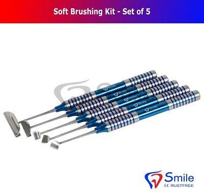 Dental Soft Brushing Kit With Free Sterilization Cassette Rack Tray ISO 13485 CE 3
