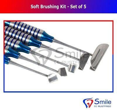 Dental Soft Brushing Kit With Free Sterilization Cassette Rack Tray ISO 13485 CE 2