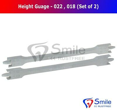 Bracket Positioning Height Gauge 018 And 022 Wick Type 3.5mm-5mm Ortho Dental 4