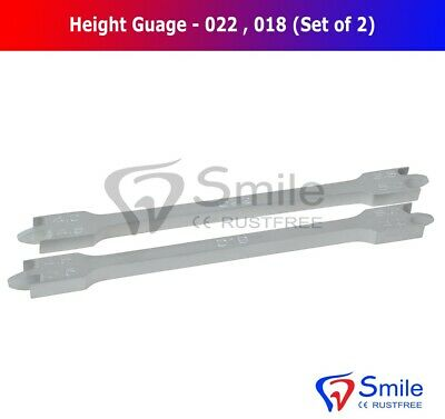 Bracket Positioning Height Gauge 018 And 022 Wick Type 3.5mm-5mm Ortho Dental 3