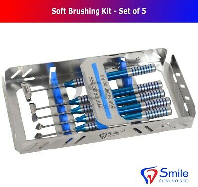 Dental Soft Brushing Kit With Free Sterilization Cassette Rack Tray ISO 13485 CE 4