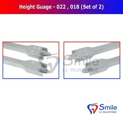 Bracket Positioning Height Gauge 018 And 022 Wick Type 3.5mm-5mm Ortho Dental 2