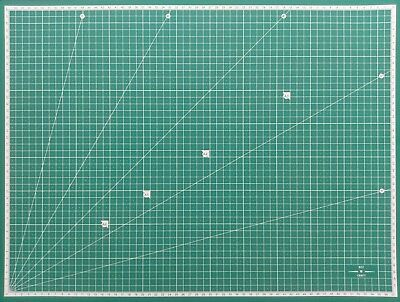 A2 5-Ply Self Healing Craft Cutting Mat 2-Sided Print Quilting – Scrapbooking 4