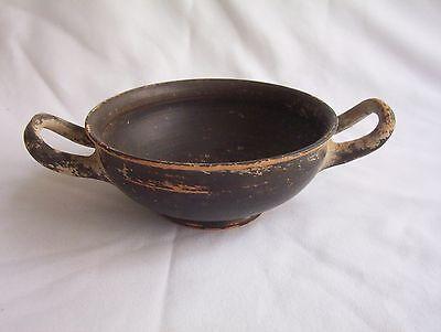 Ancient Greek Pottery Kylix c. 5th - 4th century B.C. 2