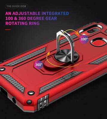 For Samsung Galaxy A20 A50 A70 A10e Shockproof Case 360 Magnetic Ring Armour 5