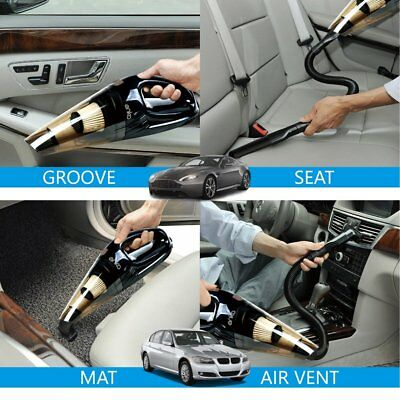 [Upgraded] ANKO High Power 120W Wet & Dry Handheld Car Vacuum Cleaner