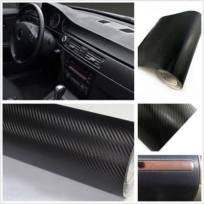 Car Interior Accessories Interior Panel Black Carbon Fiber Vinyl Wrap Sticker ya