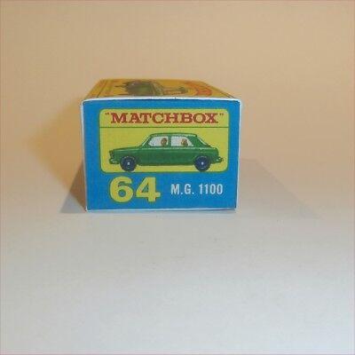 Matchbox Lesney 53 b Mercedes-Benz Coupe empty Repro D style Box