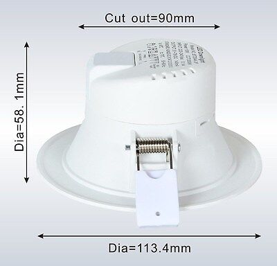 12W LED DOWNLIGHT KIT;  FIVE YEAR WARRANTY; DIM OR NON DIM; AUS RCM Approved 4